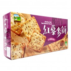 Bamboo Salt Red Quinoa Cracker 竹盐红藜麦饼